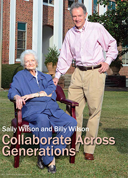Wilsons featured in Phi Theta Kappa magazine