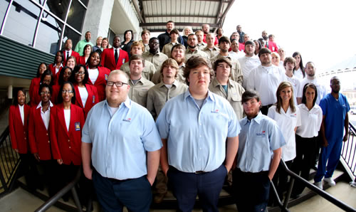 33 Goodman Campus SkillsUSA students place in state competition