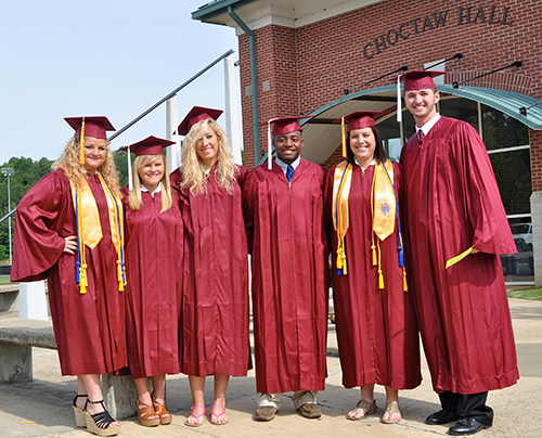Graduation numbers show continued gain for Holmes CC