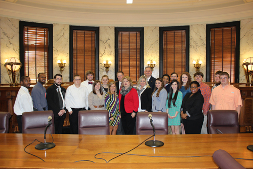 Leadership Institute tours the State Capitol
