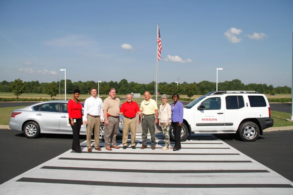 Nissan donates two vehicles to Holmes' Career-Technical Programs
