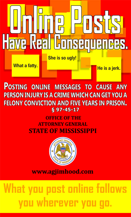 Attorney General Hood launches Online Safety Awareness Campaign