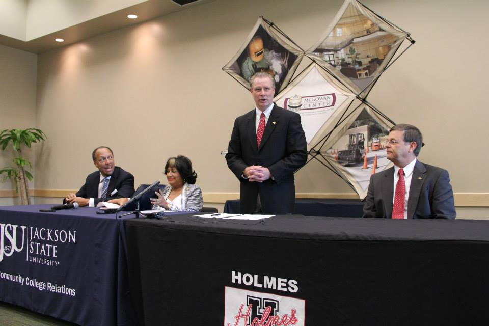 Holmes, JSU partner to further educational opportunities