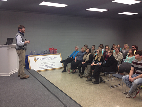 Goodman Phi Theta Kappa holds first-ever transfer orientation