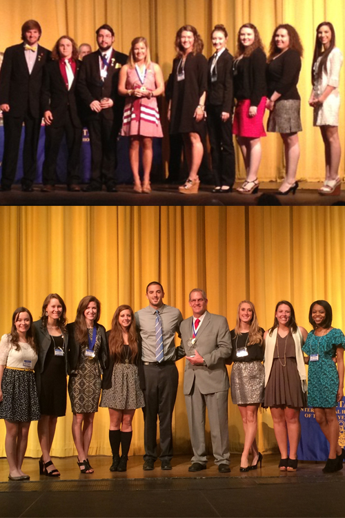 Phi Theta Kappa chapters bring home top awards at region