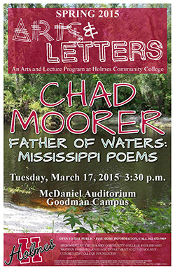 Father of Waters: Mississippi Poems to be presented on March 17