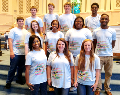 Goodman students chosen to perform with 2014 Honor Choir at USM