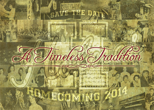 Homecoming 2014 is set for October 18