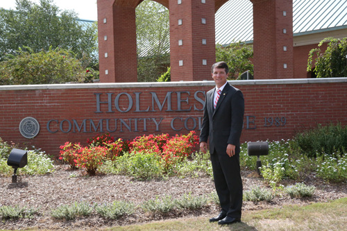 Haffey welcomed as ninth Holmes president