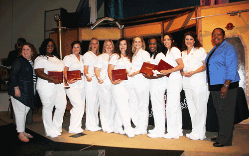 Pictured is the Ridgeland Campus Practical Nursing Class of 2016.