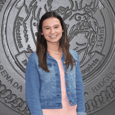"Pictured is Hannah ""Olivia"" Lane of Duck Hill, a Holmes Community College Grenada Campus student who was named a 2020 Phi Theta Kappa Coca-Cola Leaders of Promise Scholar and will receive a $1,000 scholarship."